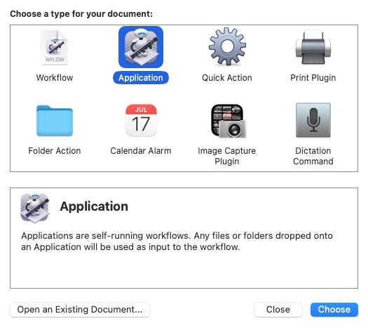 Applications Directory_Automator Icon