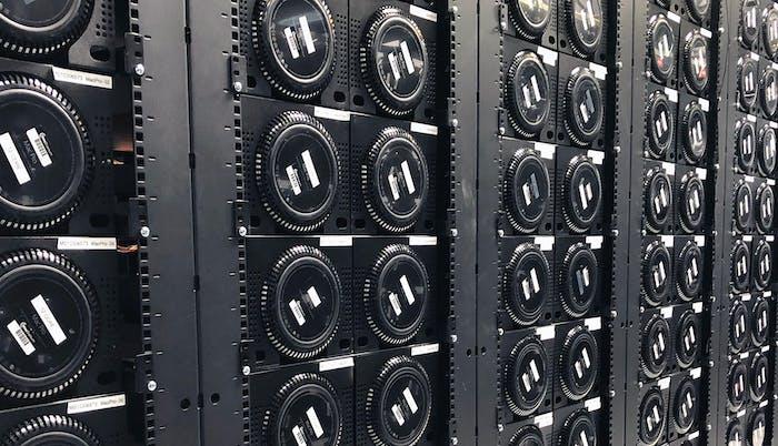Media Asset - Mac Pros in data center