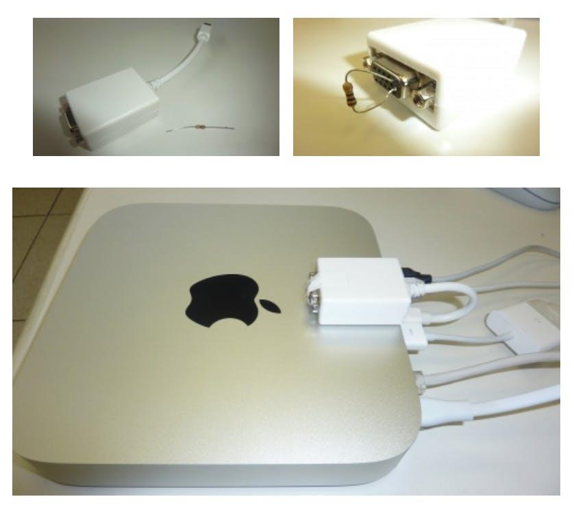 mac mini dongles
