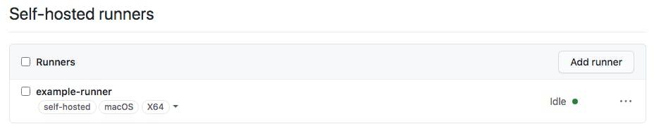 GitHub Actions_Idle Status