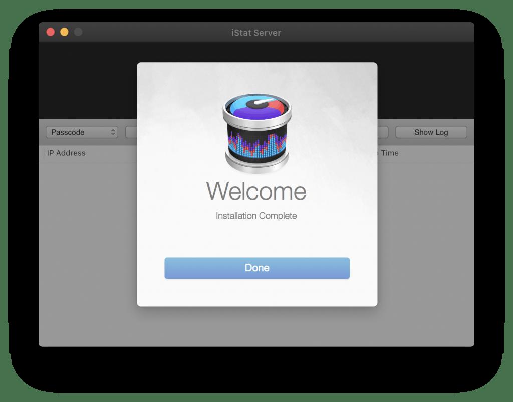 iStat server screenshot