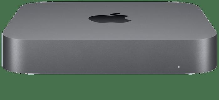 Space gray Mac mini