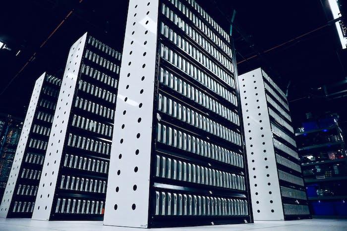 Media Asset - Mac minis in data center