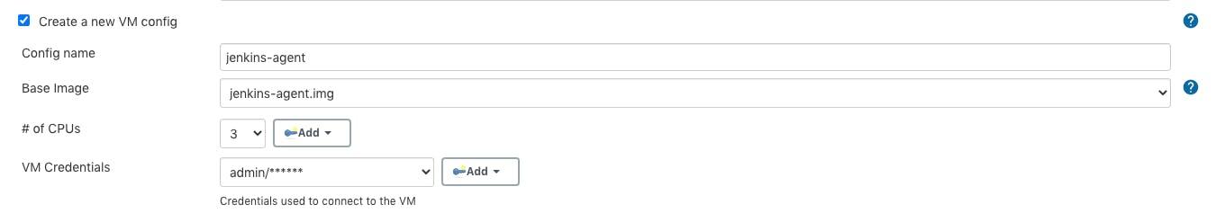Mac VM config details for Jenkins agent