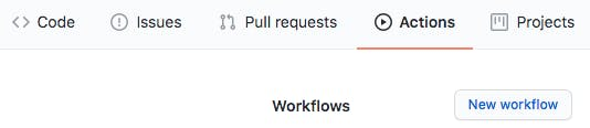 GitHub Actions_New Workflow