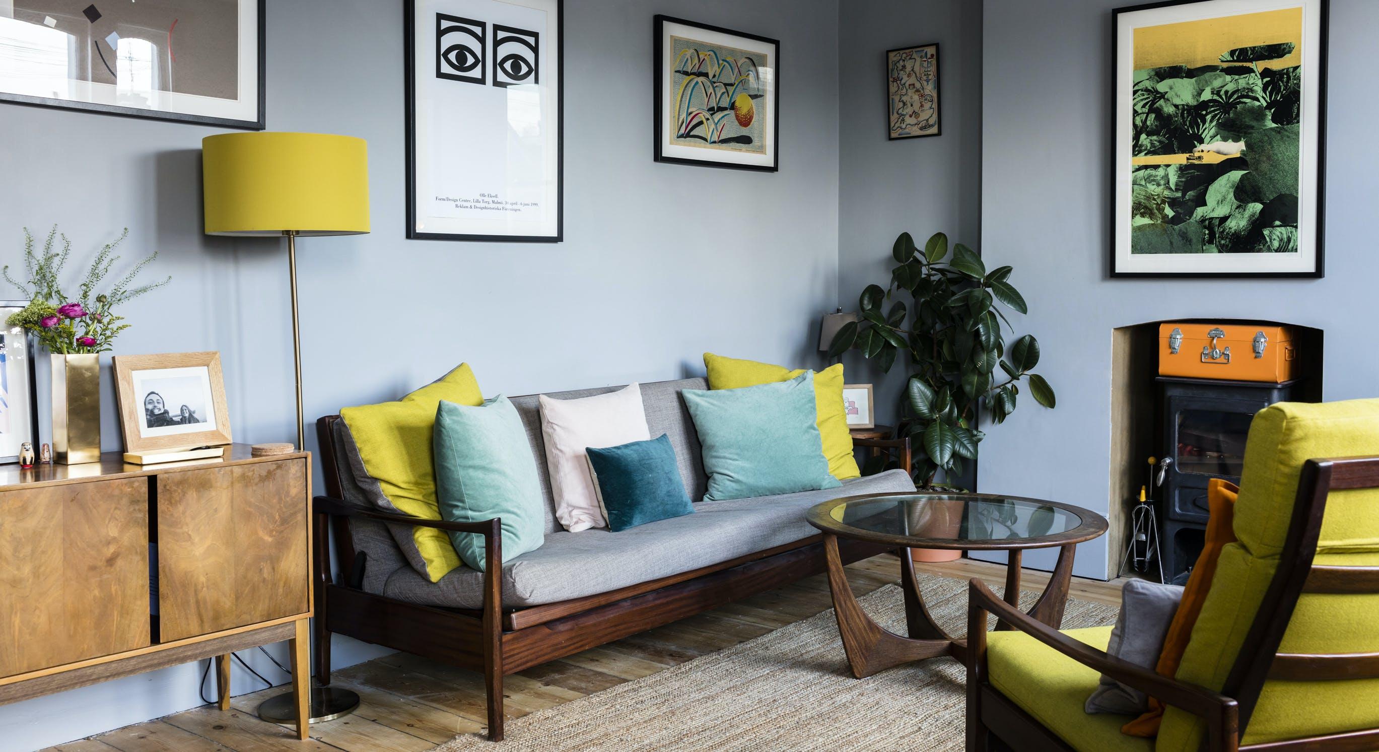 Comment Repeindre Des Fauteuils En Rotin comment oser la couleur sur vos murs