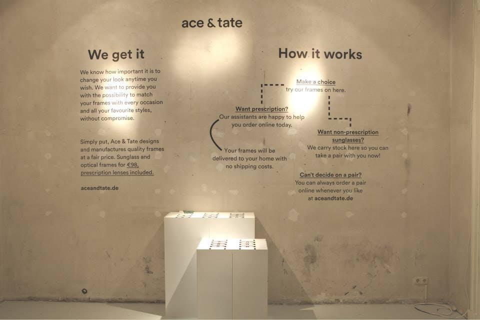 Ace & Tate Pop Up Stores