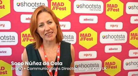 MAD//Fest Moments: Burger King's Brand + Communications Director On Being Bold
