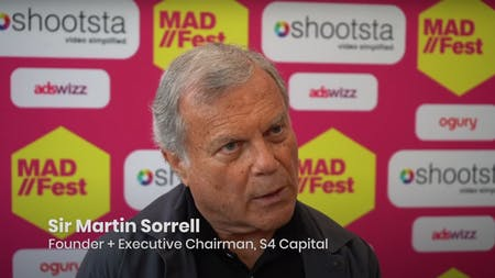 MAD//Fest Moments: Sir Martin Sorrell On S4's Digital Disruption Tactics, Hybrid Events And Structural Change