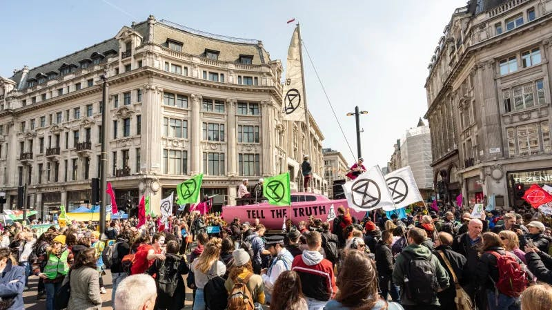 Extinction Rebellion MAD//Fest 2019.
