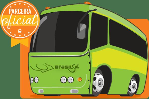 Viação Brasil Sul - Parceiro Oficial para venda de passagens de ônibus