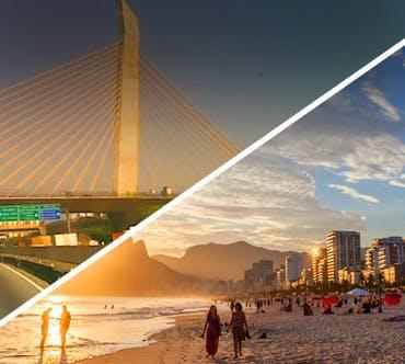 Boletos de autobús - São Paulo a Rio de Janeiro