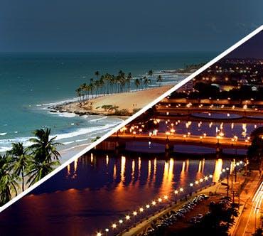 Boletos de autobús - Fortaleza a Recife