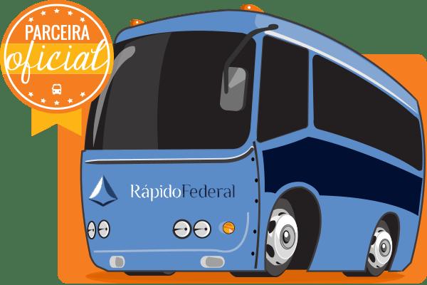 Rápido Federal - Parceiro Oficial para venda de passagens de ônibus