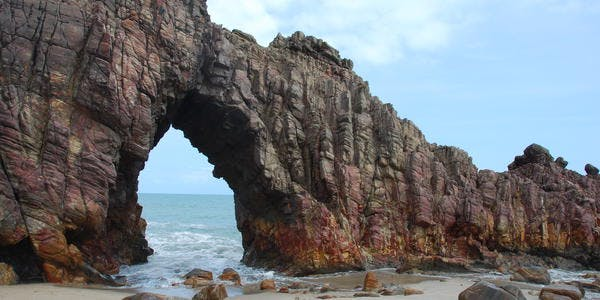 Pedra Furada - Jericoacoara - CE