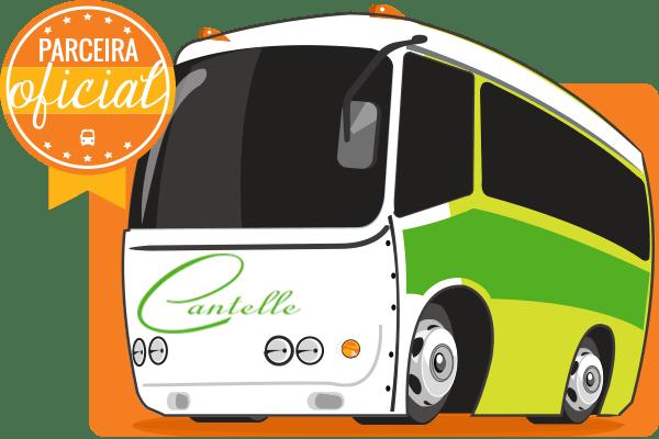 Viação Cantelle - Parceiro Oficial para venda de passagens de ônibus