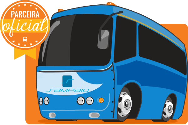 Viação Sampaio - Parceiro Oficial para venda de passagens de ônibus