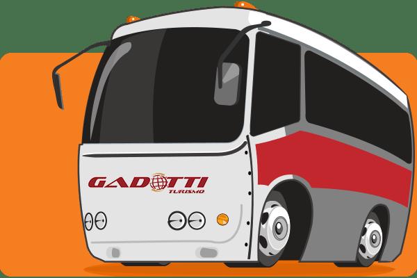 Viação Gadotti - Parceiro Oficial para venda de passagens de ônibus
