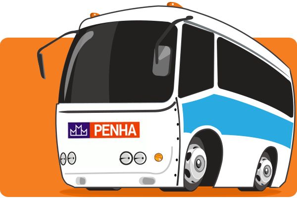 Viação Penha - Parceiro Oficial para venda de passagens de ônibus