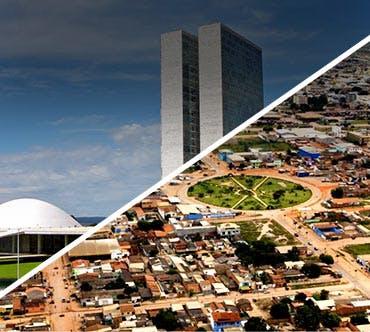 Boletos de autobús - Brasília a Luís E. Magalhães