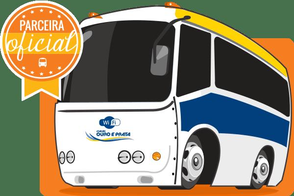 Viação Ouro e Prata - Parceiro Oficial para venda de passagens de ônibus