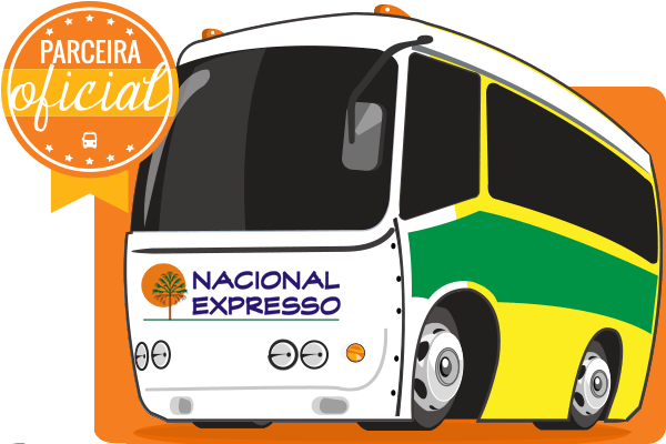 Nacional Expresso Bus Company - Oficial Partner to online bus tickets