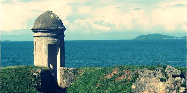Ilha de Anhatomirim - Florianópolis - SC