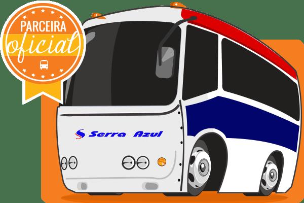 Viação Serra Azul - Parceiro Oficial para venda de passagens de ônibus