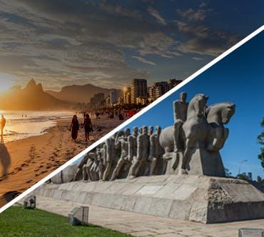 Boletos de autobús - Rio de Janeiro a São Paulo