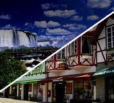 Passagem de ônibus - Foz do Iguaçu x Blumenau