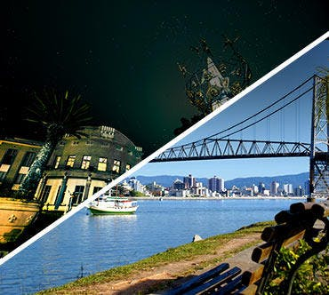 Passagem de ônibus - Blumenau x Florianópolis
