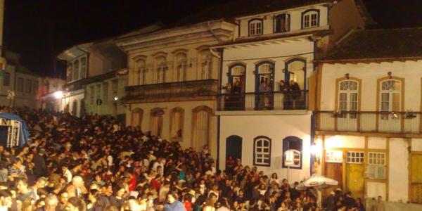 Vida noturna - Ouro Preto - MG