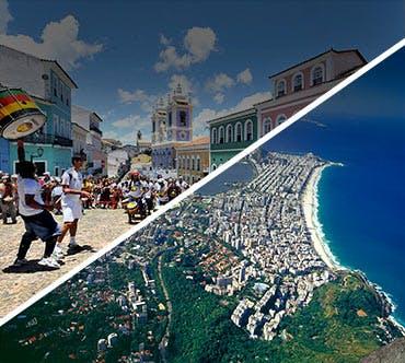 Boletos de autobús - Salvador a Rio de Janeiro