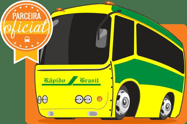 Rápido Brasil - Parceiro Oficial para venda de passagens de ônibus