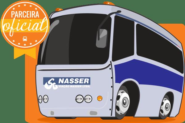 Viação Nasser - Parceiro Oficial para venda de passagens de ônibus