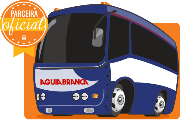 Viação Águia Branca - Parceiro Oficial para venda de passagens de ônibus