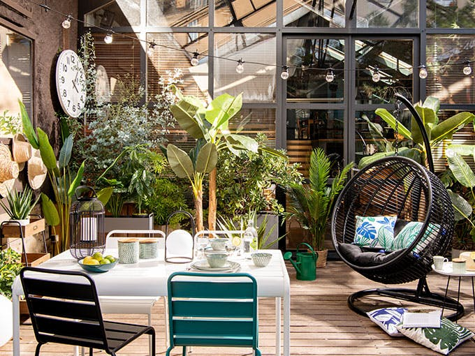 Green Patio trend  Maisons du Monde