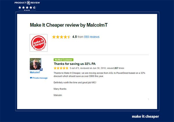 Product review by MalcolmT