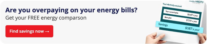 Are you overpaying on your energy bills? Get your FREE energy comparison now. Find savings now.