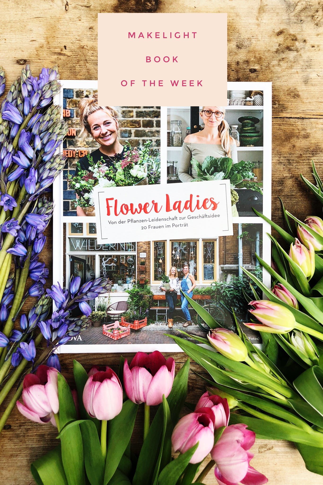 A beautiful book featuring 20 women and the plants and flowers they love.