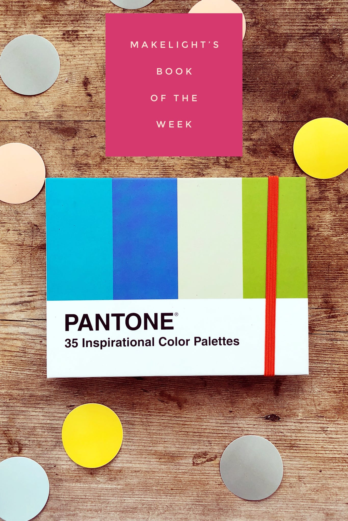 A great little book to help you with colour palettes.