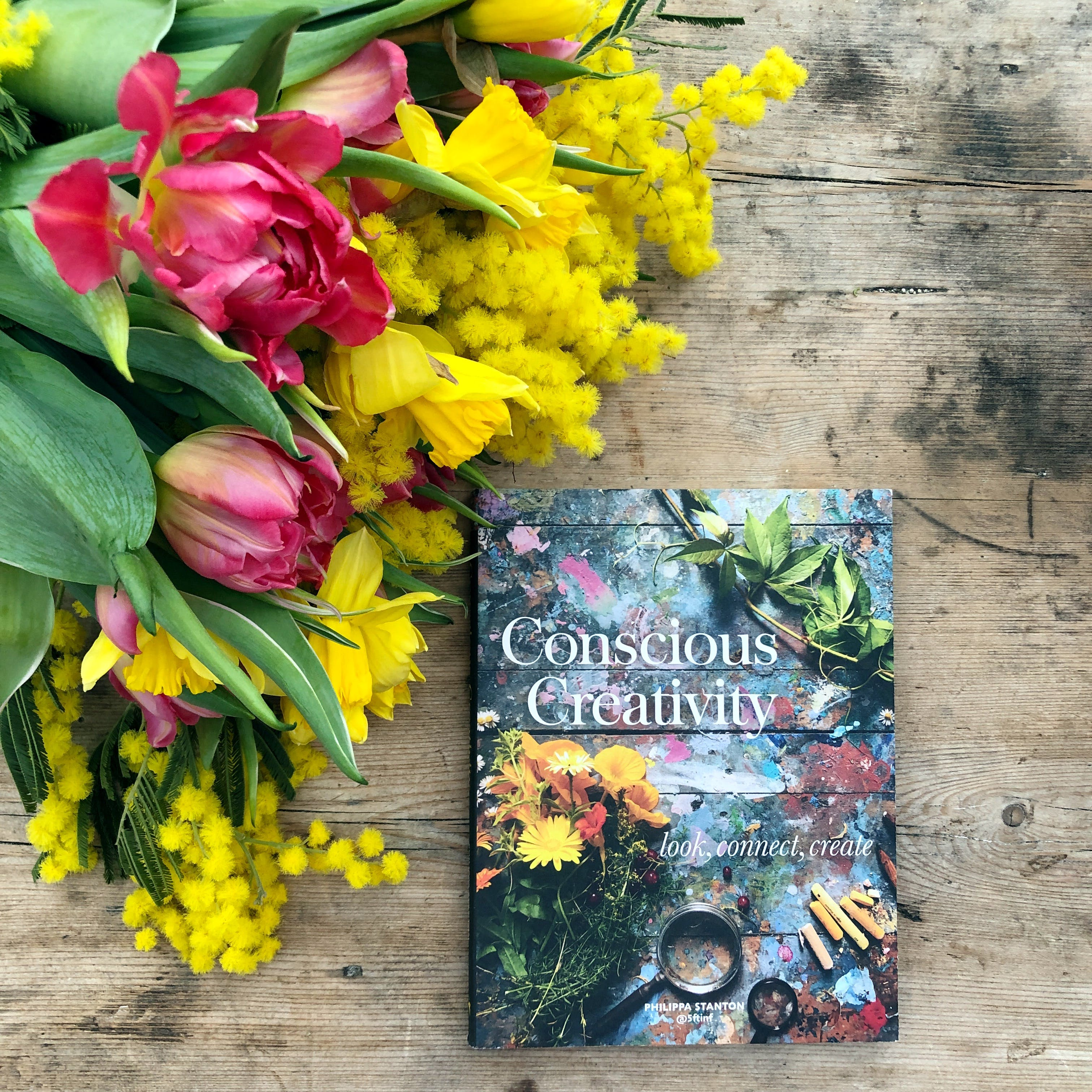 Conscious Creativity by Philippa Stanton is a complete feast for the senses and your creativity.
