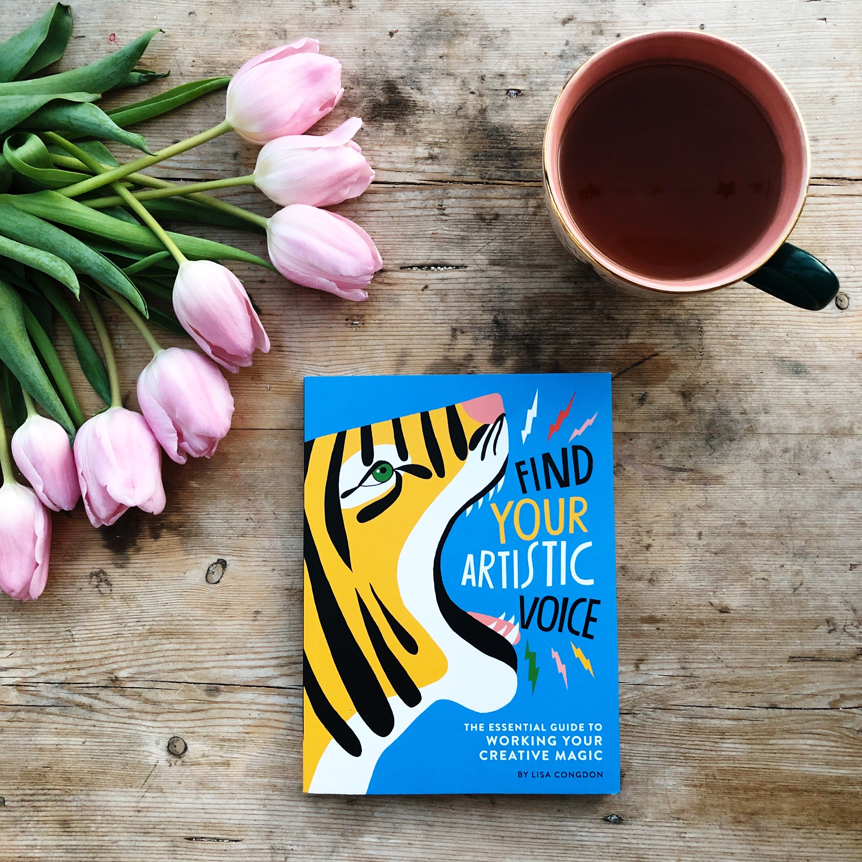 A wonderful new book from Lisa Congdon