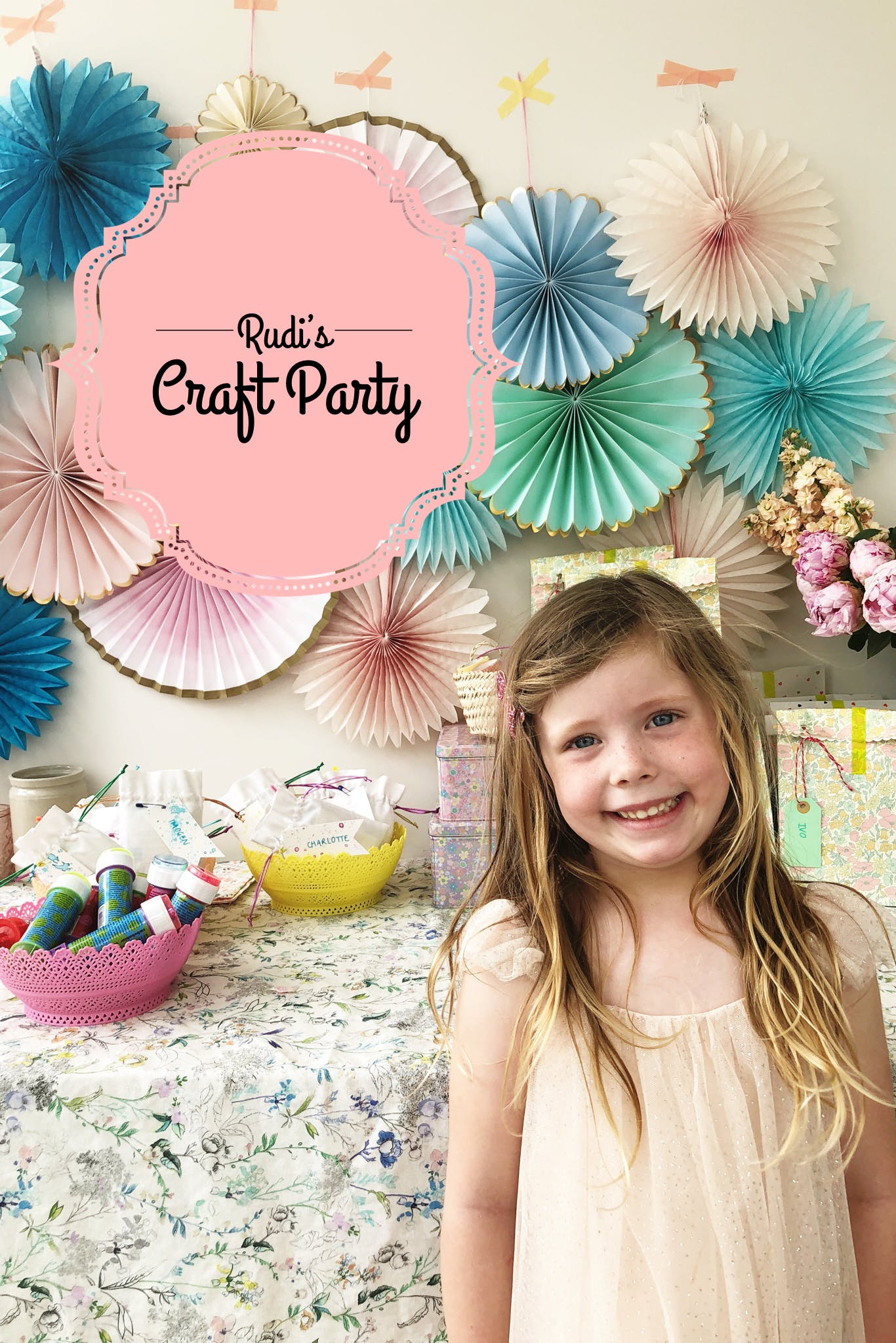 Cute ideas for a children's craft party