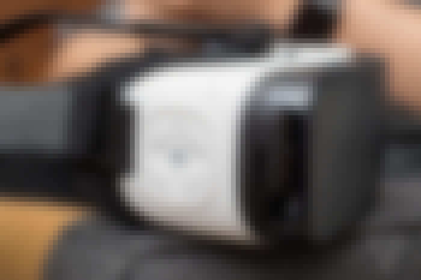 Samsung Gear VR close up.