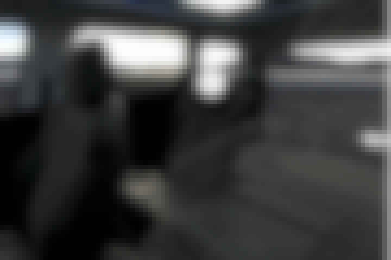 Inside of a Peugeot 5008