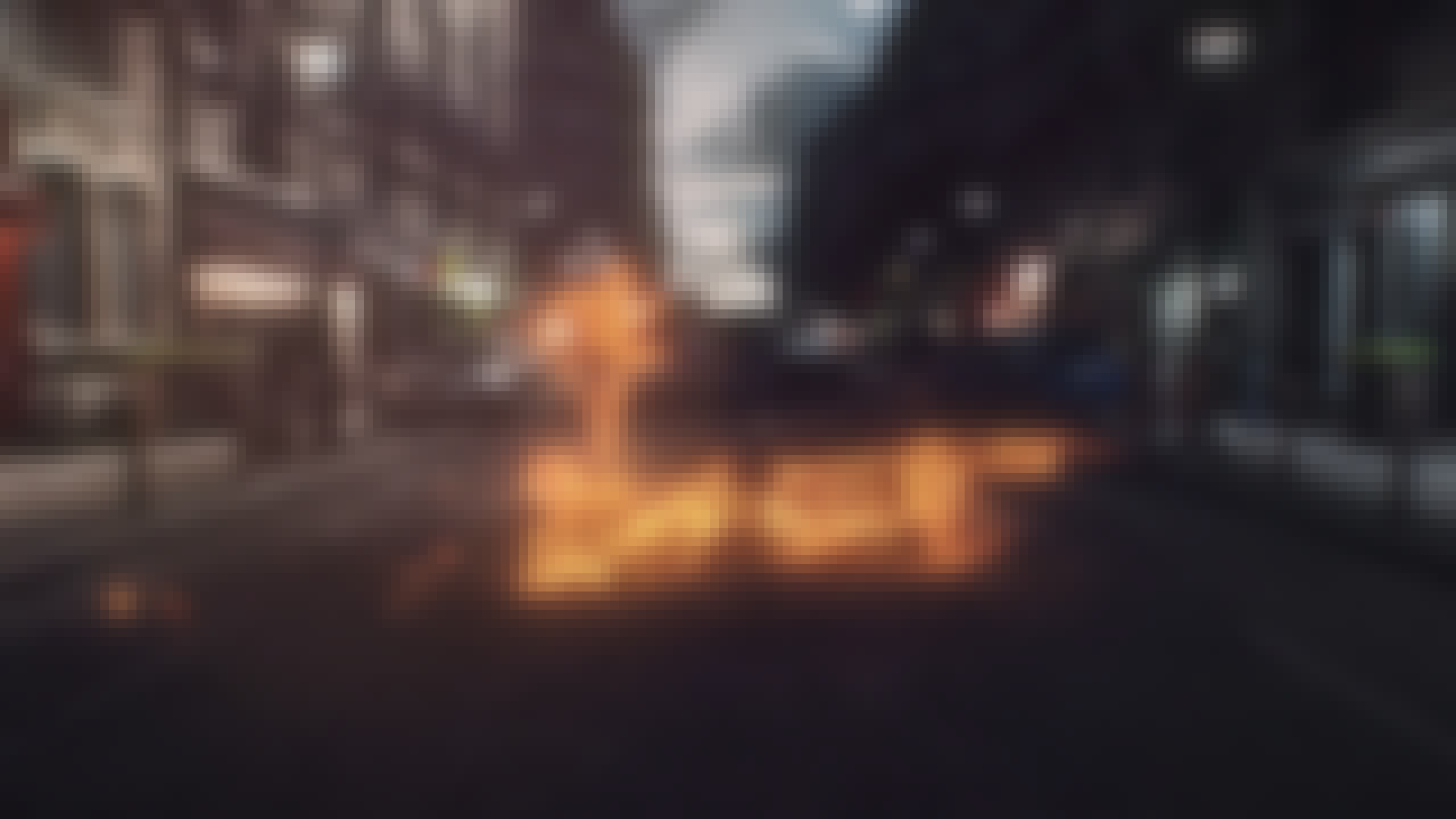 Extract of the project : shapes of lights fighting on the street