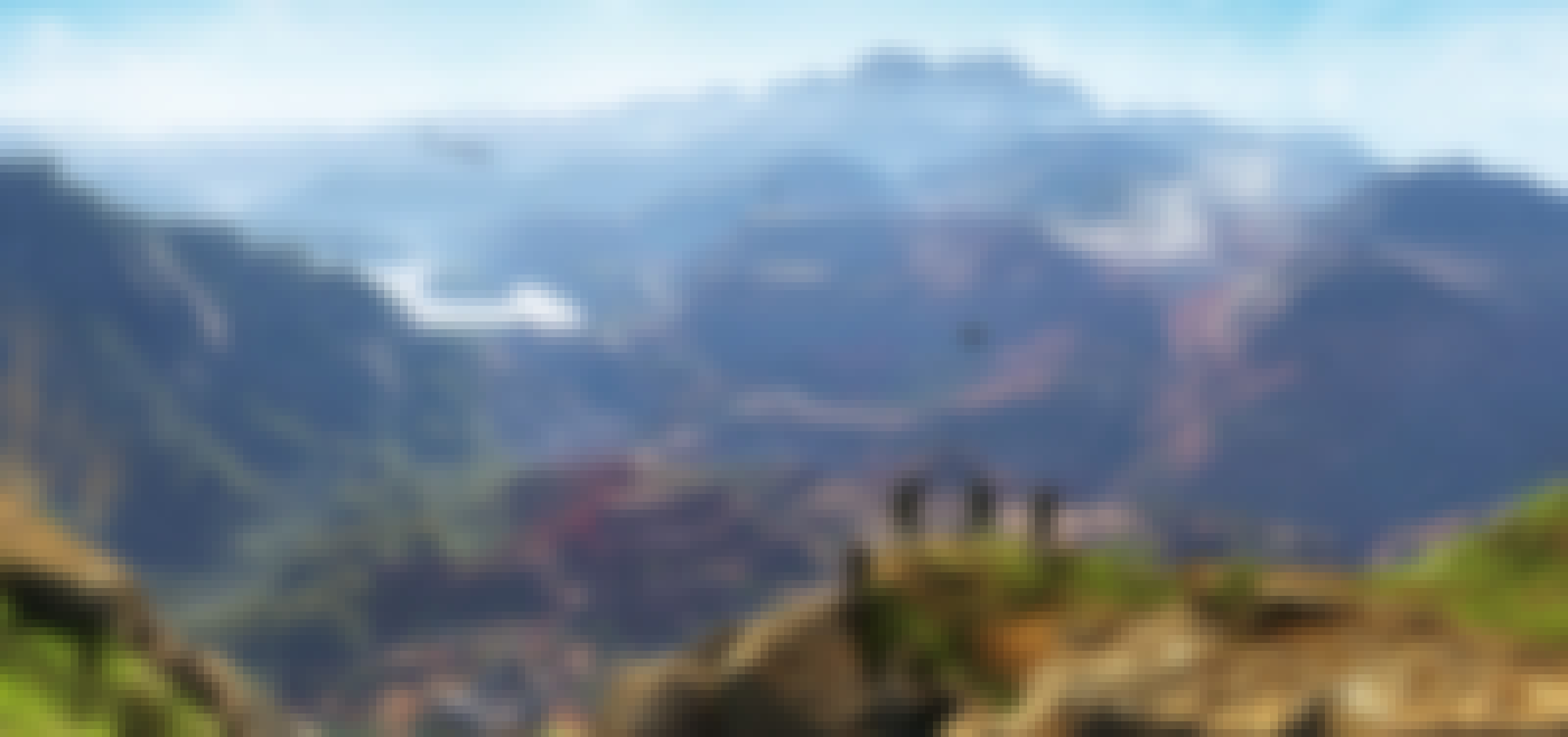 Extract of the game : mountains landscape