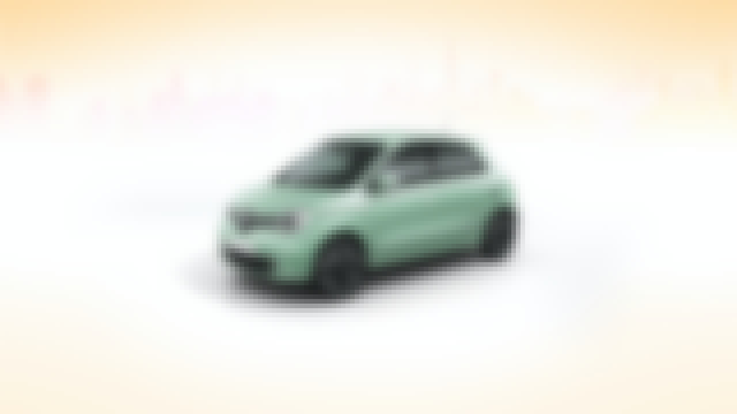 Is displayed a green Renault Twingo