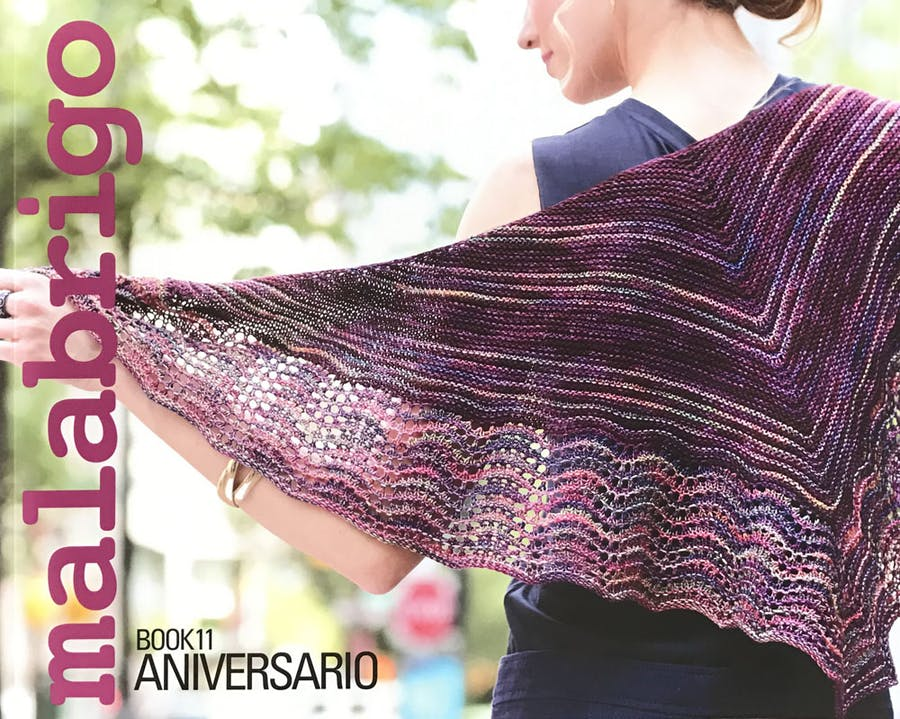 Book 11 Cover, girl with a knitted shawl